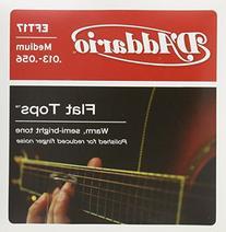 D'Addario EFT17 Flat Tops Phosphor Bronze Acoustic Guitar