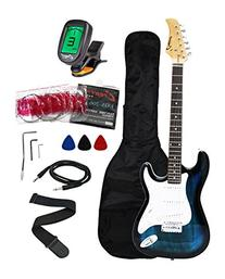 Crescent EG39-TB 39 Inch Electric Guitar Starter Kit,