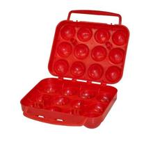 Coleman Company 12 Count Egg Container, Red