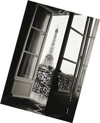 Eiffel Tower through French Doors by Christian Peacock, Art
