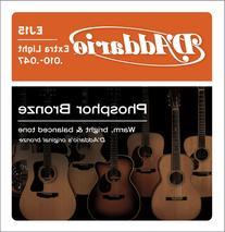 D'Addario EJ15 Phosphor Bronze Extra Light Acoustic Guitar