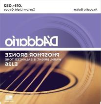 D'Addario EJ26 Phosphor Bronze Acoustic Guitar Strings,