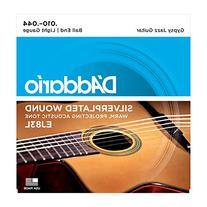 D'Addario EJ83L Gypsy Jazz Acoustic Guitar Strings, Ball End