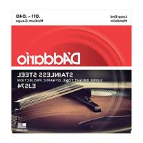 D'Addario EJS74 Phosphor Bronze Mandolin Strings, Stainless