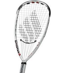 Ektelon O3 White Ss Racquetball Racquet, Grip 3 5/8