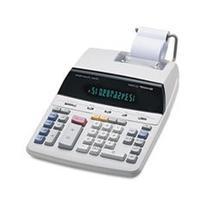 12-Digit Calculator, 2-Color Print, 8-1/8