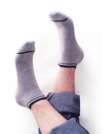 Vero Monte 6 Pairs Mens Elastic No Show Ankle Socks  1211