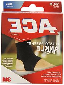 ACE Brand Compression Ankle Support, Small/Medium, America's