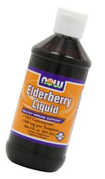 Now Foods Elderberry Liquid Concentrate, 8-Ounce