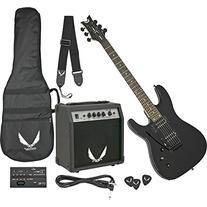 Dean Electric Guitar Starter Pack with Vendetta XMT Metalic