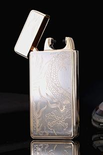 VVAY Electric Lighter, Rechargeable Double Arc Flameless