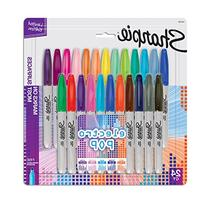 Sharpie Electro Pop Permanent Markers, Fine Point, Assorted