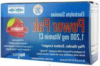 Trace Minerals Electrolyte Power Pak Raspberry, 32 pk