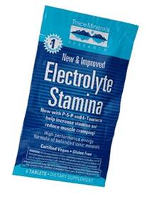 Electrolyte Stamina Tablets Trace Minerals 6 Tabs