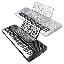 Hamzer 61-Key Electronic Keyboard Piano, Silver