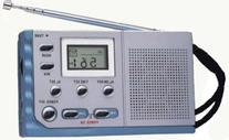 Kaito KA208 Mini size AM/ FM radio with LCD digital display
