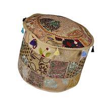 Elegant Designer Home Decorative Ottoman Footstool Cover 18