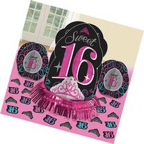 Elegant Sweet Sixteen Celebration Table Decorating Kit
