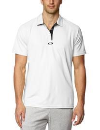 Oakley Men's Elementat Polo, X-Large, White