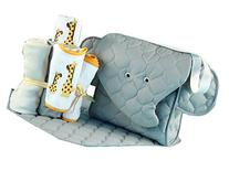 Silly Phillie Elephant Diaper Tote Baby Gift Set