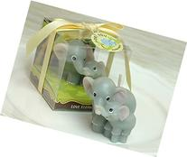 Red cherry elephant mum and little elephant novelty candles