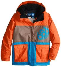 686 Boy's Elevate Insulated Jacket, Small, Burnt Orange