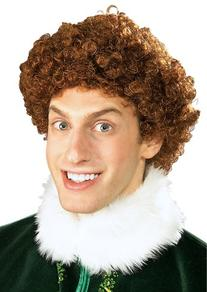Elf Buddy Costume Wig
