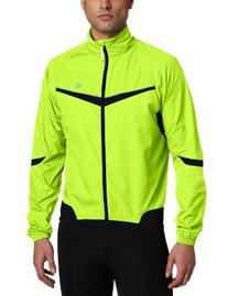 Pearl Izumi Men's Elite Barrier Jacket,Screaming Yellow/