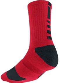 Nike Elite Crew Sock Red/Black L