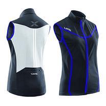 2XU Women's Elite X Cycle Vest, Black/Purple Hue, Medium