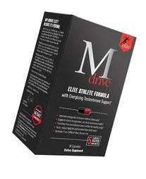 Mdrive Elite Energizing Testosterone Booster with Cordyceps