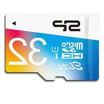 Silicon Power 32GB MicroSDHC UHS-1 Memory Card - with