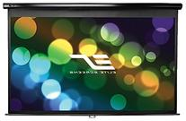 Elite Screens Manual Pull Down Projection Screen - 72
