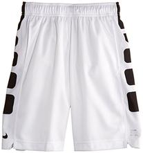 "Nike Boys Elite Stripe Big Kids 10"" Basketball Shorts, XL,"
