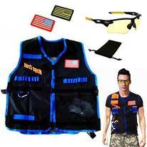 MageCraft Elite Tactical Vest Kit For Nerf N-strike Elite