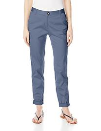Dockers Women's Ella Straight Leg Relaxed Fit Pant, Navy