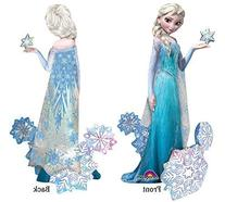 Frozen's Elsa The Snow Queen Airwalker Birthday Balloons