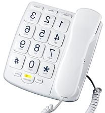 Emerson EM300WH Big Button Corded Phone Designed For Elderly