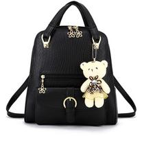 Embossed Multi-Way Structured Backpack