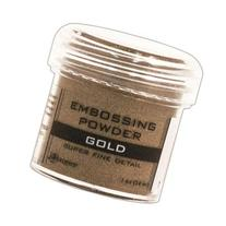 Embossing Powder 1Oz Jar-Super Fine Gold