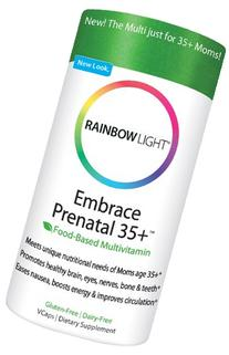Rainbow Light Embrace Prenatal 35+ Multivitamin 90 cap vegi
