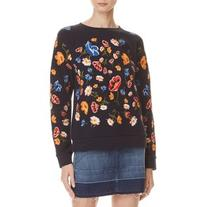 Whistles Embroidered Sweatshirt