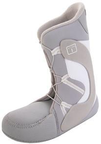 Burton Emerald Youth Snowboard Boots WHITE\LIGHT BLUE 5