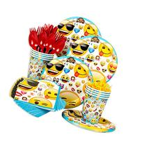 Emoji Standard Birthday Party Tableware Kit