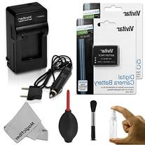 EN-EL12 Battery and Charger Kit for NIKON Coolpix AW100