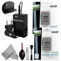 EN-EL14 / EN-EL14a Battery and Charger Kit for NIKON DSLR