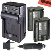 BM Premium 2-Pack of EN-EL15 Batteries and Battery Charger