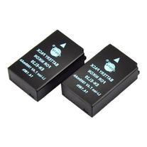 DSTE® 2x EN-EL20 Replacement Li-ion Battery for Nikon