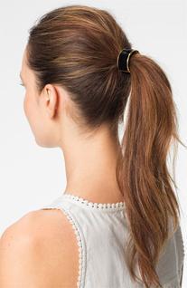 L. Erickson 'Atelier' Enamel Cuff Ponytail Holder, Size One