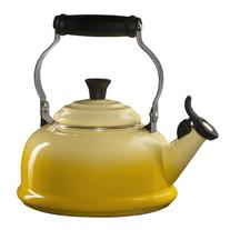 Le Creuset Enamel-on-Steel Whistling 1-4/5-Quart Teakettle,